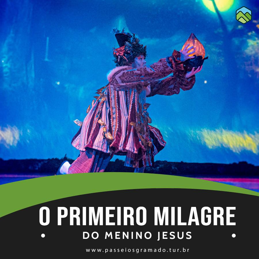 Read more about the article O Primeiro Milagre Do Menino Jesus