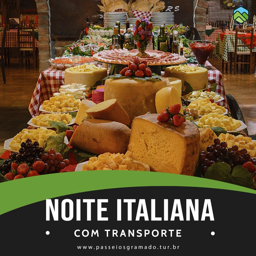 Read more about the article Noite Italiana (com transporte)
